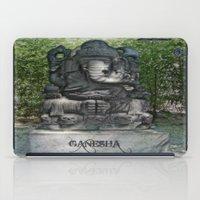 ganesha iPad Cases featuring Ganesha by Lucia
