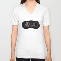 apollo V-neck T-shirts featuring Apollo 11 by ZacLeck