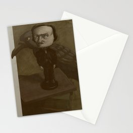 Poe and the Raven Stationery Cards