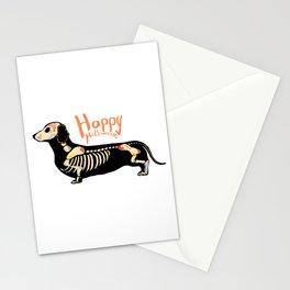 Happy Halloweenie Stationery Cards