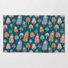 Pattern Project #49 / Mushroom Girls Rug