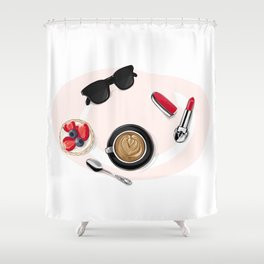 Сoffee Shower Curtain