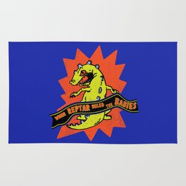 When Reptar Ruled The Babies Rug