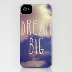 Dream Big iPhone (4, 4s) Slim Case