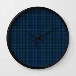 Campbell Tartan Wall Clock