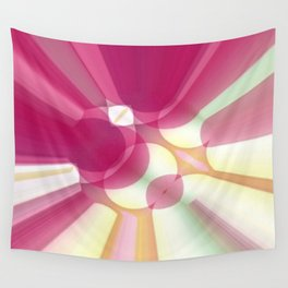Striations Pinks and Beiges Wall Tapestry