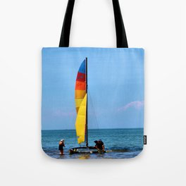 Launching Tote Bag