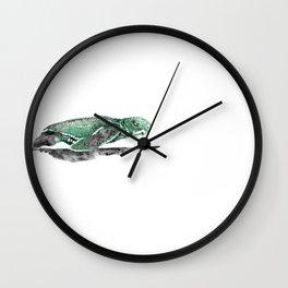 Leatherback sea turtle hatchling Wall Clock