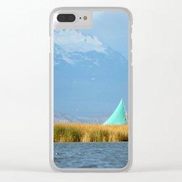 Titicaca sail 1 Clear iPhone Case