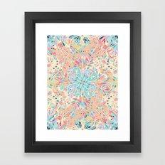 Paradise Doodle Framed Art Print