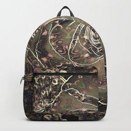Antique Rose Pattern Backpack