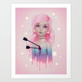 Star Struck (until Feb 28th) Art Print