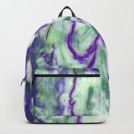 Encaustic Horse (Purple) Backpack
