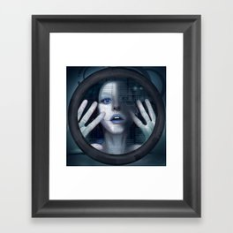 Untitled_oblò Framed Art Print