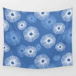 Sand dollars sea shells Wall Tapestry
