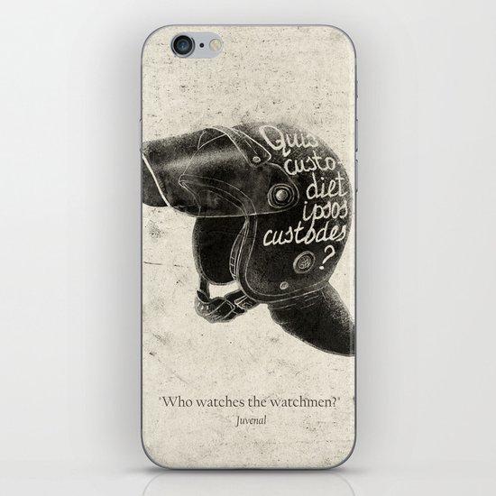 Quis custodiet ipsos custodes? iPhone & iPod Skin