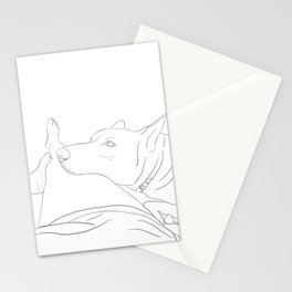 What do you think about, when you think about things? Stationery Cards
