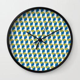 Geometric Box Wall Clock