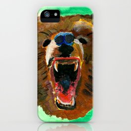 This is a bear iPhone Case