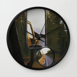 Roadtrip Wall Clock