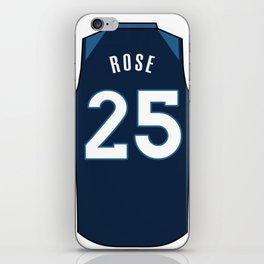 Derrick Rose Jersey iPhone Skin