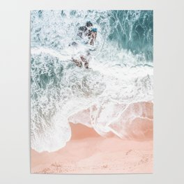 Sands of Coral Haze Poster