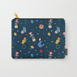 Retro American circus Carry-All Pouch