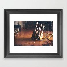 Guitars Framed Art Print