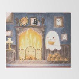 Little ghost making fire Decke