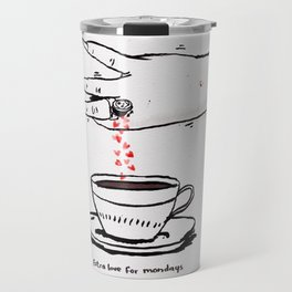 Extra Love for Mondays Travel Mug