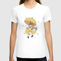 puppycat T-shirts featuring Bee and Puppycat by Kaciel