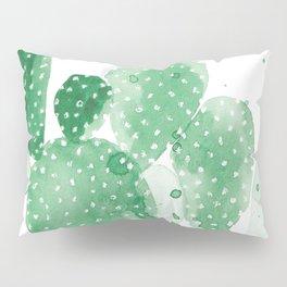 Green Paddle Cactus Pillow Sham