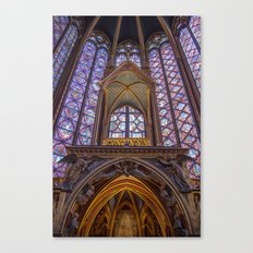 Sainte Chapelle - Paris Canvas Print