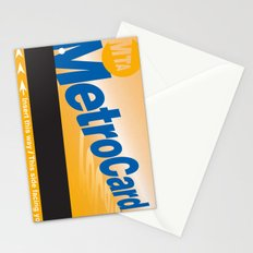 MetroCard Stationery Cards