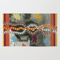 dna Area & Throw Rugs featuring DNA by Naomi Vona
