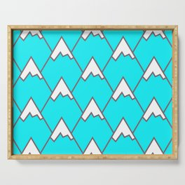 Mountain Peaks Serving Tray