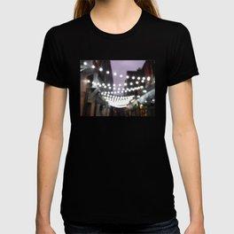 Scottish Photography Series (Vectorized)- Glasgow City Lights T-shirt