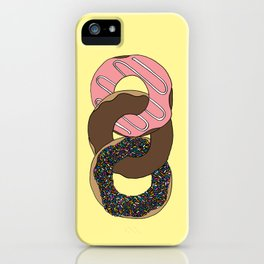 Donuts, Forever iPhone Case