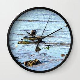 Trash Bird, #1 Wall Clock