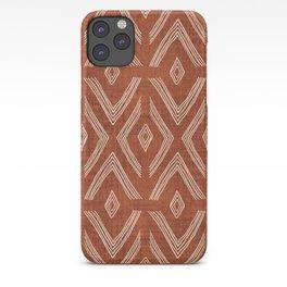 Birch in Rust iPhone Case