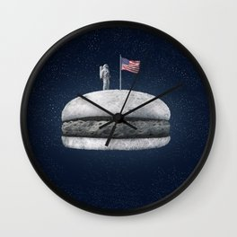 Moon Landing Wall Clock