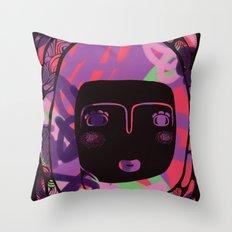 Protect_BLACK Throw Pillow