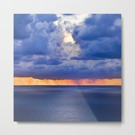 'tween sea and sky, after Rothko. Metal Print