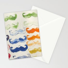 Mustaches Stationery Cards