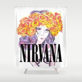 About a Girl Shower Curtain