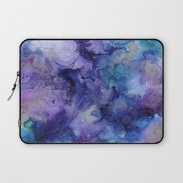 Abstract Watercolor and Ink Laptop Sleeve