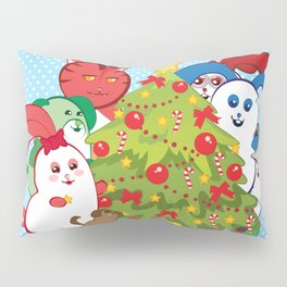 Ernest | Winter Holidays Pillow Sham