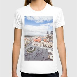 Old Town Square in Prague T-shirt