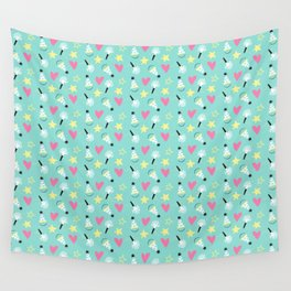 Party stars Wall Tapestry