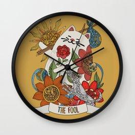 The Fool (El lLoco) Wall Clock